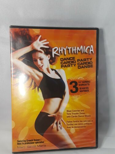 Primary image for Rhythmica Dance Cardio Party (DVD, 2012, Bilingual cover: English/F  - Brand New