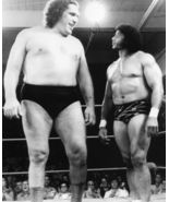 Andre Giant Jimmy Snuka SA Vintage 11x14 BW Wrestling Memorabilia Photo - $15.95