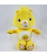 "Care Bears Funshine Bear 10"" Plush Yellow Sunshine Tummy Stuffed Animal Toy - $15.48"