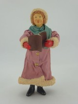 "Vintage 1986 Clothtique Possible Dreams Victorian Girl Caroler 7.5"" Tall - $49.45"