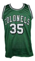 Darel Carrier #35 Kentucky Colonels Aba Basketball Jersey New Green Any Size image 4