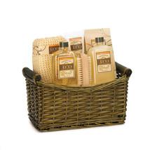 15264B  Relaxing Vanilla & Ginger Spa Basket Gift Set - $25.95