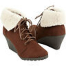 Soda Denton Brown Boots Size 7 Brand New - $30.00