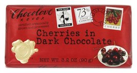 Chocolove Dark Chocolate Bar Organic Cherries -- 3.2 oz Each / Pack of 2 - €14,26 EUR