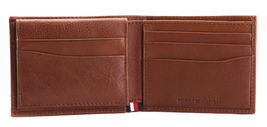 Tommy Hilfiger Men's Leather RFID Fixed Passcase Wallet Billfold 31TL220084 image 9
