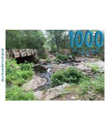 Puzzles of Utopia: 1,000 Piece Jigsaw Puzzle Beautiful Relaxing Park, Wa... - $16.90