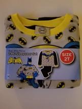 DC Comics Batman Toddler Boys 2pc Pajamas Set Sizes 2T 4T NWT  - $11.99