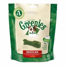 Greenies Canine Dental Dog Treat Chew Regular 170g - $20.16 CAD