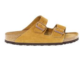 Sandal BIRKENSTOCK 1009527 U in ocher suede leather - Men's Shoes - $96.90