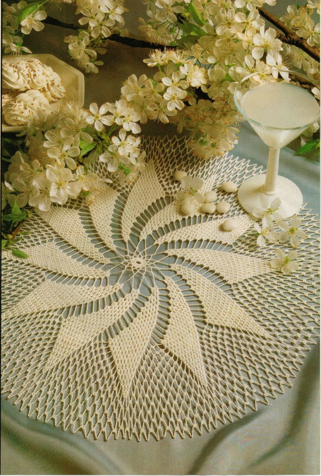 Primary image for 2x Whirlwind Romance & Strong Statement Crochet DOILY Pattern