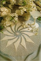 2x Whirlwind Romance & Strong Statement Crochet DOILY Pattern - $5.99