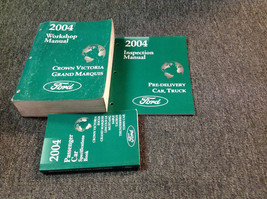 2004 OEM  FORD Crown Victoria & Grand Marquis Service Shop Manual Set W ... - $178.19