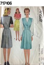 VTG Sewing Pattern McCall #5583 Size 14 Waist 26-1/2 Skirt or Jumper Unu... - $19.06
