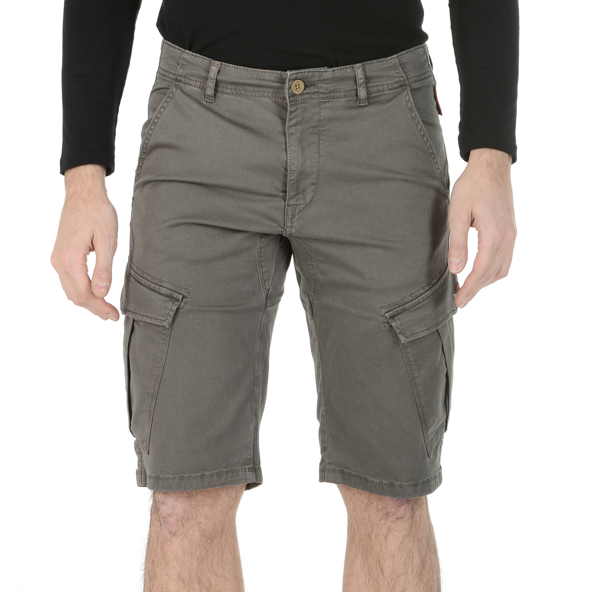 Primary image for Andrew Charles Mens Shorts Brown JAKO