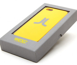 Wesc We Are Superlative Conspiracy Dandelion Yellow Fitted Iphone 5 5S Case NIB image 2