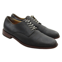 COLE HAAN Grand OS Mens Sz 10 Brown Pebbled Leather Lace-up Casual Oxfor... - $34.64