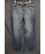 Men's Mavi Jeans Relaxed Boot Fit Jeans Faded Medium Blue Wash Denim 34 ... - $24.94