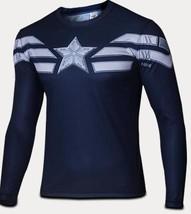 Avengers 2  Captain  Super Heroes Short Sleeve t-shirt Summer Style Larg... - $20.70