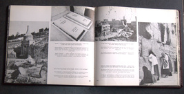Vintage 1950 Book A Tour Through Israel Illustrated Hebrew English French image 6