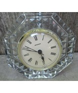 STAIGER French Crystal Quartz Table/Mantel Clock - $18.00