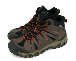 Merrell Bracken Vibram Brown Hiking Trail Boots Waterproof Shoes Men's S... - $44.95