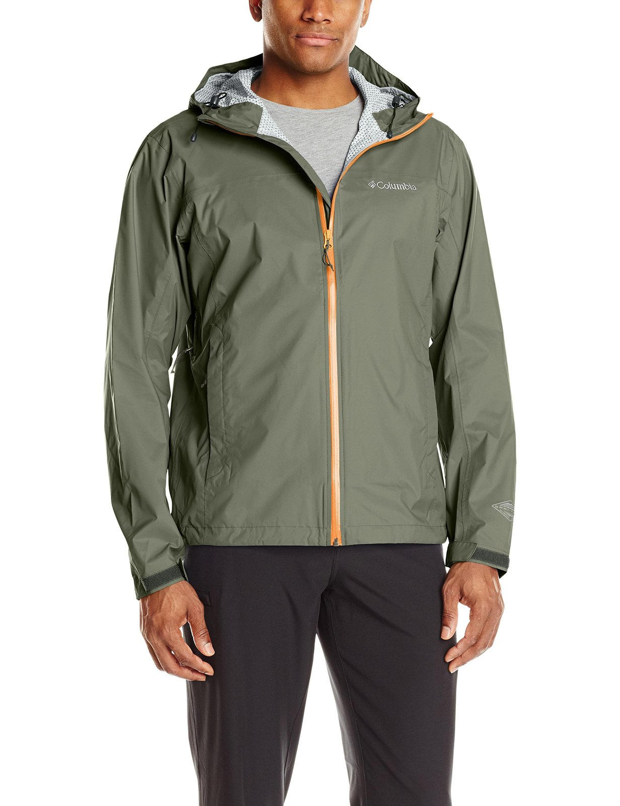 Columbia Men's Evapouration Jacket, Cypress, Large