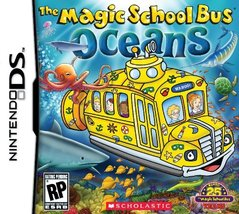 Magic School Bus Oceans - Nintendo DS [video game] - $55.00