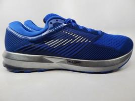 Brooks Levitate Size 11 M (D) EU 45 Men's Running Shoes Silver Blue 1102691D406