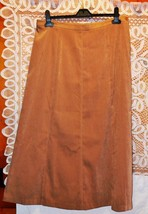 "Size 14 Waist 36"" Keen Camel Brown Colored Skirt by JM CollectionsRox178 - $12.76"