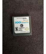 100 All-Time Favorites Ubisoft - (Nintendo DS, 2007) - CARTRIDGE ONLY Vi... - $4.89