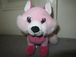 "GANZ Pink Fox Stuffed Plush 8"" - $4.95"