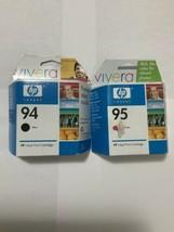 94 black COMBO 95 COLOR inkjet print  cartridge expired - $17.99