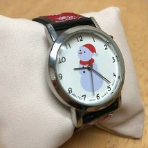 Vintage Anya LTD Christmas Jingle Bell Musical Quartz Watch Hours~New Battery image 3