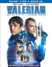 Valerian & The City Of A Thousand Planets (Blu Ray/DVD W/Dig Hd) (Ws/Eng/Fr