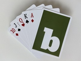 Classic Bonanza Playing Cards  - $5.00