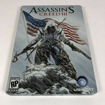 Assassin's Creed III 3 Steelbook Collector's Edition Only NO GAME or Pap... - $11.29