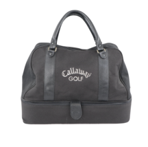 Vintage 90s Callaway Golf Spell Out Leather Handled Carry On Golfing Bag... - $98.95