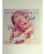 Van Halen David Lee Roth Eddie Van Halen album signed - $349.00