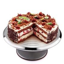 Birthday 12'' Rotating Round Cake Stand Aluminium Cake Decorating Supplies - $25.20