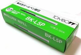 *Tombow aqueous ballpoint pen core replacement 0.5mm Black  10 present B... - $21.49