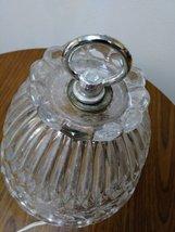 Vintage Leviton  Crystal  Glass Lamp Working Night Light Lamp image 4