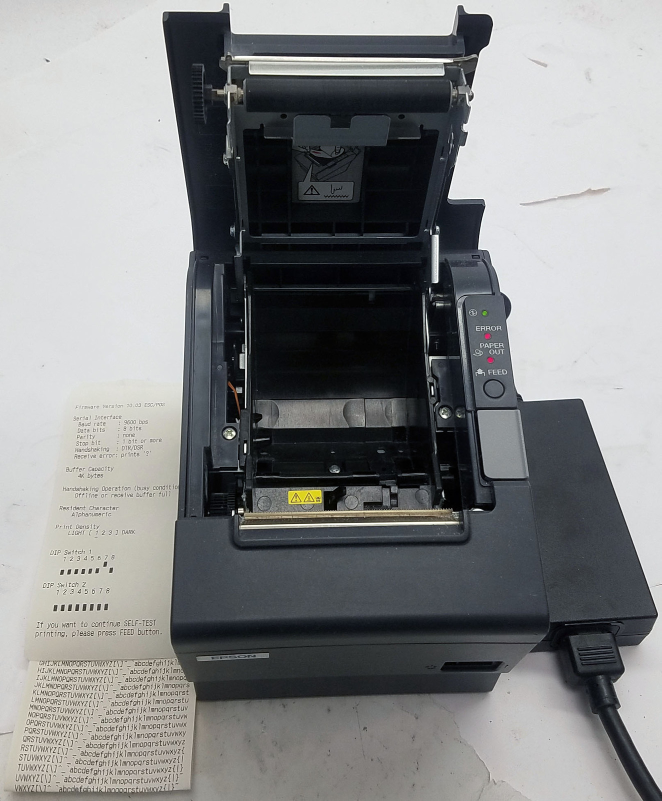 Epson TM-T88IV Thermal Receipt Printer With Power Supply (Parallel)