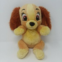 "Disney Babies Plush Lady And The Tramp 12"" Cocker Spaniel Puppy Dog Parks - $12.16"