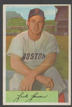 Boston Red Sox Jack Jensen 1954 Bowman Baseball Card 2 vg+ - $9.99