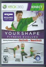 Your Shape: Fitness Evolved (Microsoft Xbox 360, 2010) (w/ Manual)  - $6.79