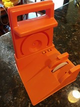 Vintage Ideal Evel Knievel Stunt Cycle Launcher Charger Energizer Orange - $79.95