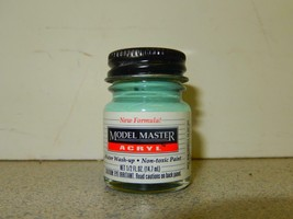 TESTOR MODEL MASTER ACRYLIC PAINT- 4792 DUNKELGRUN RLM 82-1/2 FL.OZ- NEW... - $4.40