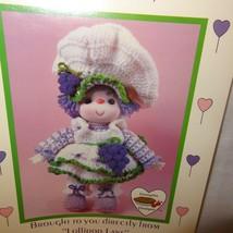 Grape Jelly Doll Pattern Lollipop Lane Dumplin Designs Crochet 1984 CDC403 - $9.99