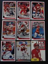 1993-94 Upper Deck Series 1 Calgary Flames Team Set 9 Hockey Cards No #151 - $3.50