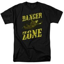 Archer Danger Zone T-shirt TV show cotton black graphic tee TCF495 image 2